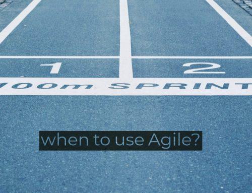 Wann sollte man Agile verwenden?