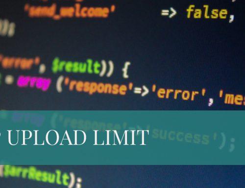 PHP Upload size bei Strato Webpaketen