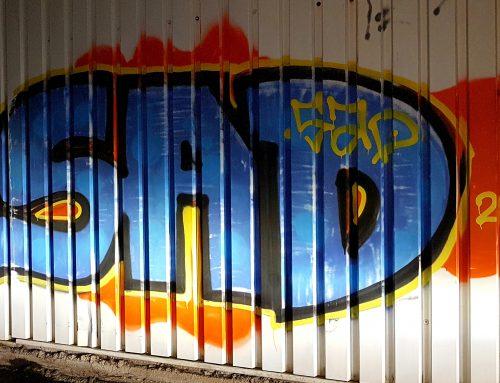 14.03.2019 Grafitti in Stukenbrock