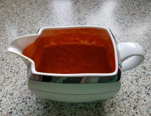 Meine Variante der roten Mojo Sauce