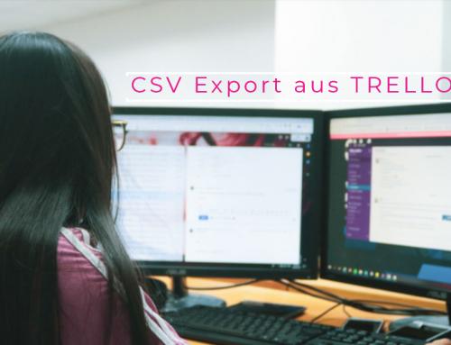 EXCEL Export aus Trello