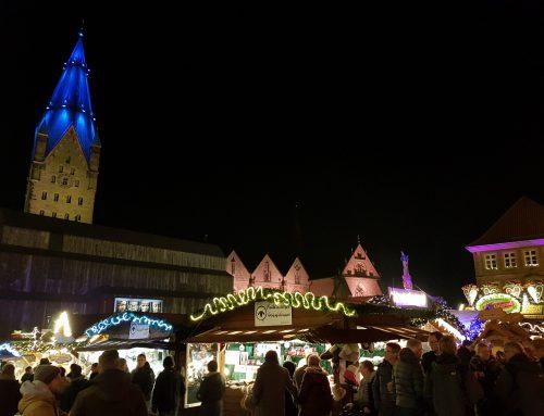 Weihnachtsmarkt hat begonnen