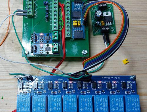 Zusammenschalten der Hardware und genereller Funktionstest